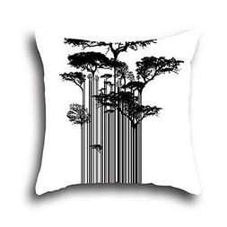 Oshiley Art Tree Wrinkle Resistant Pillow Case Oil Painting