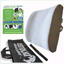 Trusted XL Back Lumbar Support Pillow Won't Flatten 100% Pur