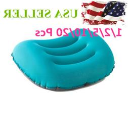 Inflatable Portable Camping Pillow Cover Set Ultralight Cush