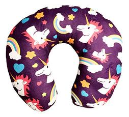 101 BEACH Unicorn Print Travel Neck Pillow