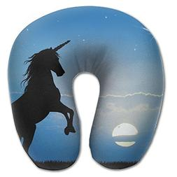 Unicorn Sunset U Type Pillow Neck Pillow Super Soft Cervical